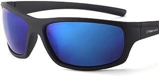 Fashion Men Fashion Male Eyewear Sun Glasses Travel Fishing Oculos 20/20 Optical Brand Design New Polarized Sunglasses Retro (Color : Blue)