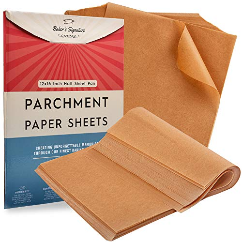Parchment Paper Baking Sheets by Baker's Signature