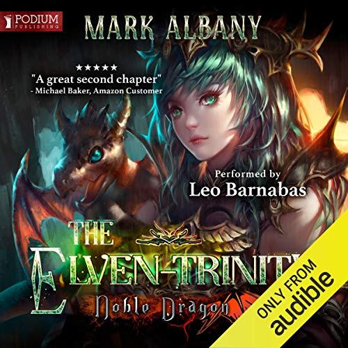 Noble Dragon audiobook cover art
