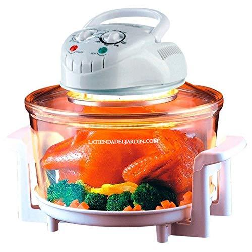 Thulos Horno DE CONVECCION ELECTRICO HALOGENO Cocina Sano 12 litros 1350W Incluye 5 Accesorios