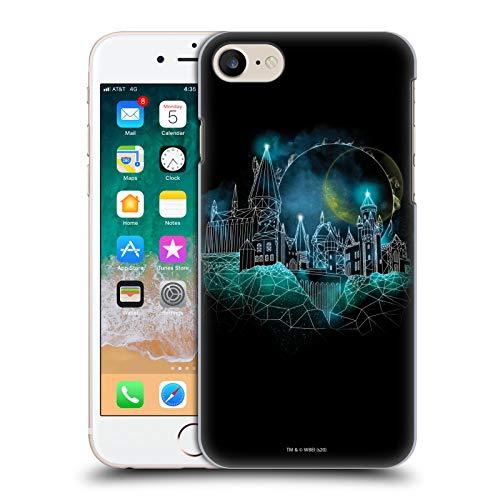 Head Case Designs Offiziell Zugelassen Harry Potter Hogwarts Deathly Hallows XVIII Harte Rueckseiten Handyhülle Hülle Huelle kompatibel mit Apple iPhone 7 / iPhone 8 / iPhone SE 2020