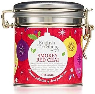 English Tea Shop Dose mit schwarzem Tee und geräucherten Bio-Gewürzen in Blättern aus Sri Lanka - 1 x 100 Gramm