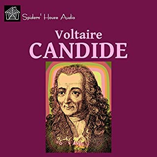 Candide                   By:                                                                                                                                 Voltaire                               Narrated by:                                                                                                                                 Roy Macready                      Length: 3 hrs and 27 mins     32 ratings     Overall 4.0