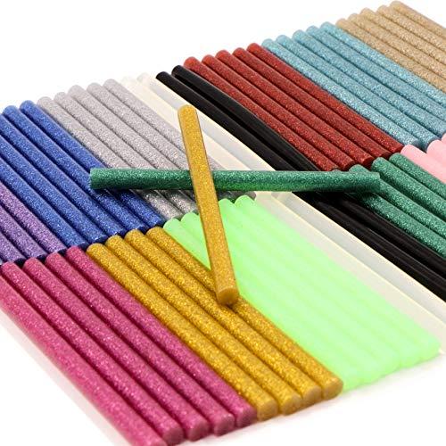 Barras de pegamento termofusible, barras de pegamento termofusible, para manualidades, sellado y...