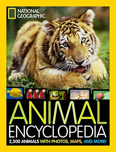 National Geographic Animal Encyclopedia: 2, 500 Animals with Photos, Maps, and More! [Hardcover] [2012] (Author) Lucy Spelman
