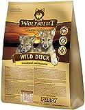 QUALITÄTSSIEGER :  Wolfsblut Wild Duck Puppy – Essen wie echte Wölfe