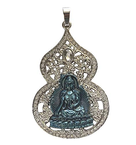Feng Shui Import Blue Medicine Buddha Wu Lou Pendant