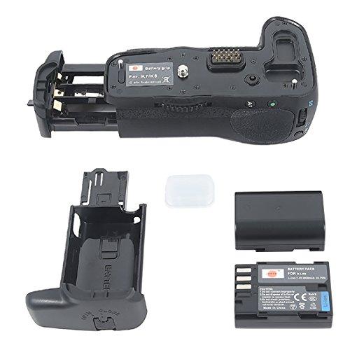 DSTE Multi-Poder Vertical Batería Apretón Titular para Pentax K-7 K-5 K7 K5...