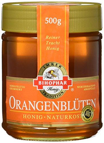 BIHOPHAR Honig Orangenblüte, 2er Pack (2 x 500 g)