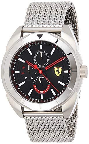 Scuderia Ferrari Reloj Multiesfera para Hombre de Cuarzo con Correa en Acero Inoxidable 830637