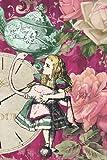 Alice in Wonderland ROSES notebook