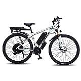 TAOCI Bicicletas eléctricas para adultos, bicicleta de montaña, bicicletas eléctricas de, batería de iones de litio extraíble de 29 '48 V 1000 W para viajes en bicicleta al aire libre