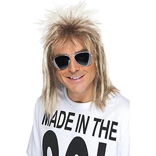 Smiffys Perruque nuque longue des années 80, blond cendré (B00BBLAZVQ) | Amazon price tracker / tracking, Amazon price history charts, Amazon price watches, Amazon price drop alerts