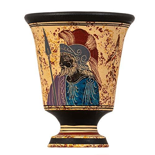 Copa Pitágoras de Justicia Taza Feria de Pitágoras Antiguo Dios Griego Ares...