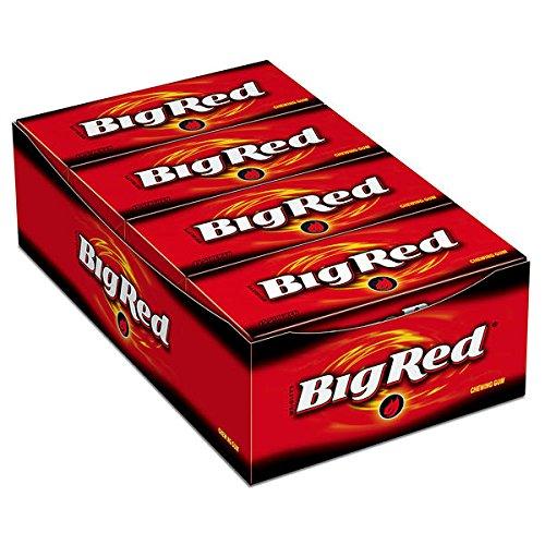 100 Packungen a 15 Striefen Wrigley´s Big Red rot Chewing Gum Kaugummi 100 x 50g