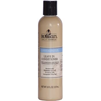 Amazon Com Dr Miracle Leave In Conditioner 8 Oz Standard Hair Conditioners Beauty