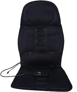 tongzhou Cojín de masajeador Cuello de Coche eléctrico con calefacción Lumbar Masaje de Cuerpo Completo Cojín de Asiento de masajeador(European regulations)
