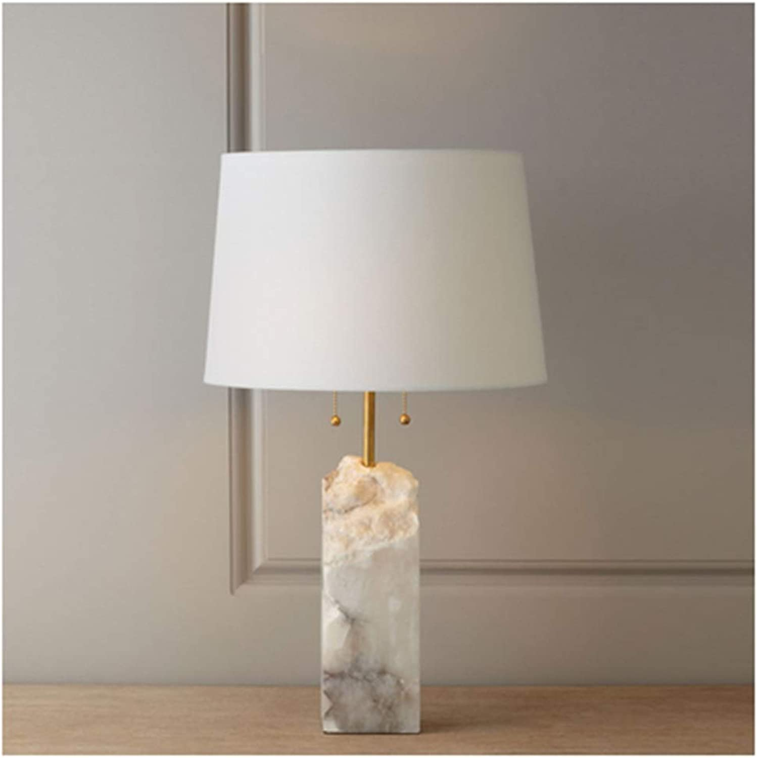 PPWAN Simple Household Table Lamp Modern Bedroom Living Room Table Lamp Desk Exquisite and Durable Reading Lamp 4290 Table lamp