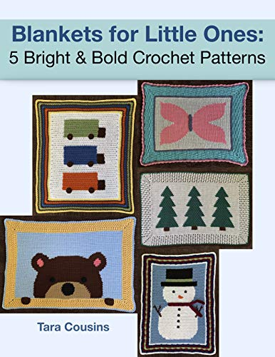 Blankets for Little Ones: 5 Bright & Bold Crochet Patterns (Tiger Road Crafts Book 26)