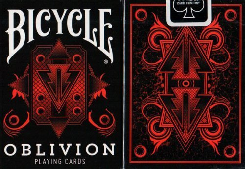 Bicycle Oblivion Deck (Red) By Collectable Playing Cards (Black Seal) by Collectable Playing Cards
