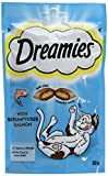Dreamies -Golosinas para gatos, sabor: Salmone, 60 g (Pack o