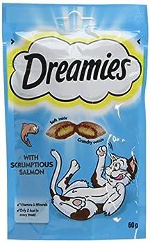 Dreamies Friandises pour chats - Saumon ( Salmon ) - 60g (8 Paquets)