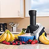 FMXYMC Máquina automática para Hacer Helados, Máquina portátil para Hacer Helados para Uso doméstico, Máquina para sorbetes congelados de Frutas, Helados Veganos saludables Postres Helados Smoothie