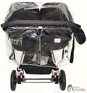 0576baa05 Protector de lluvia Compatible con Mountain Buggy Duet – Carrito doble (213)
