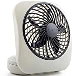 "Best Battery Operated Mini Fans - O2COOL 5"" Portable Fan Battery Powered, 1 Unit Review"