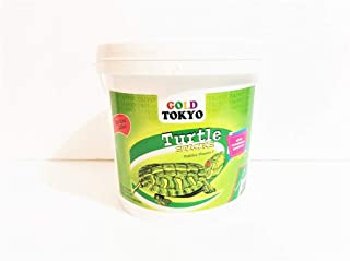 Gold Tokyo Turtle Sticks, 1kg, Staple Food for All Turtle and Reptiles