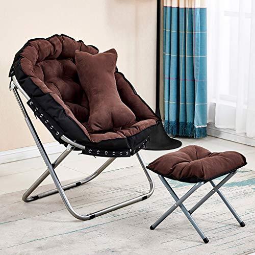 Ligstoel campingstoel opvouwbaar met pak driedelig elegant en comfortabel voetensteun A2