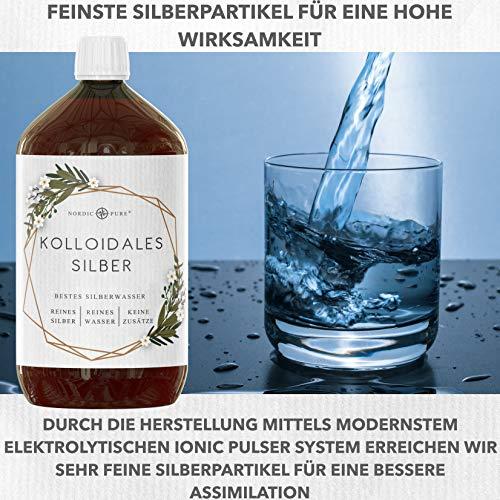 Kolloidales Silber 100ppm - 8