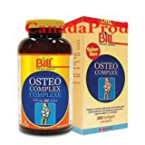 Osteo Complex, For Joint Health, Value Size, 300 Softgels, Bill Natural Sources