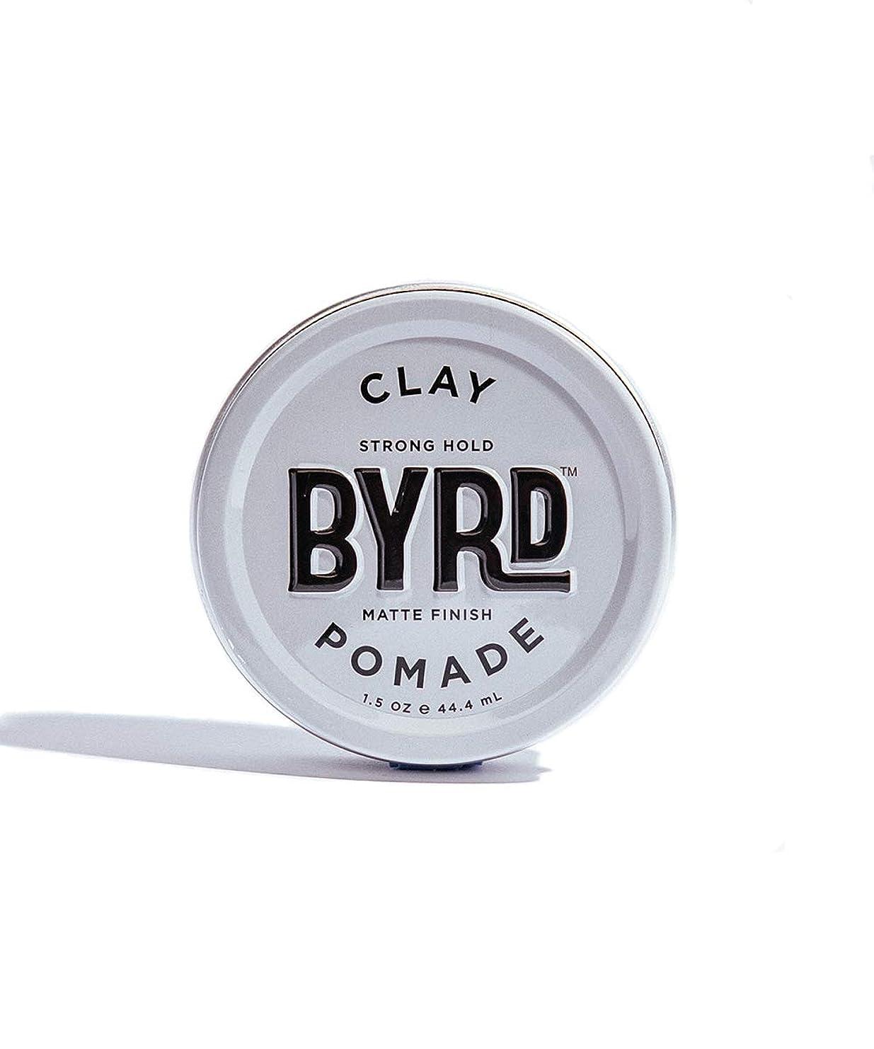 ディレクトリ不確実バスBYRD/クレイポマード 42g メンズコスメ ワックス ヘアスタイリング かっこいい モテ髪