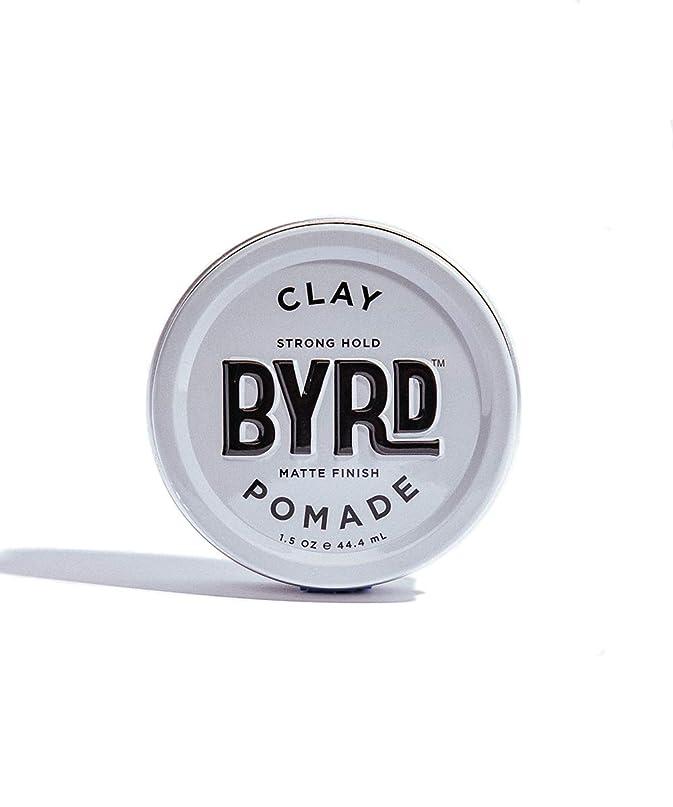 大事にする地下鉄矩形BYRD/クレイポマード 42g メンズコスメ ワックス ヘアスタイリング かっこいい モテ髪