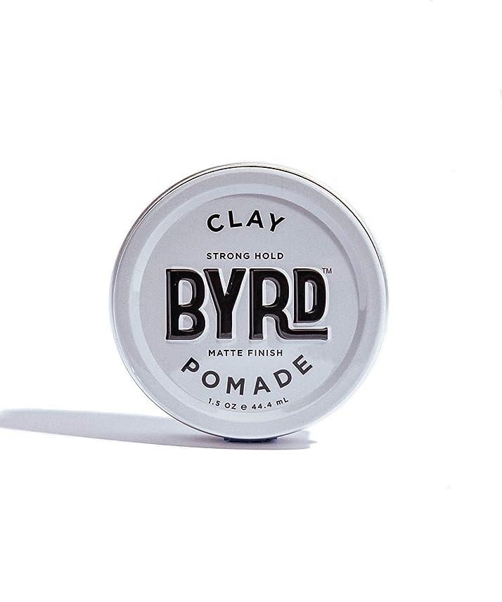 位置する瞬時にではごきげんようBYRD/クレイポマード 42g メンズコスメ ワックス ヘアスタイリング かっこいい モテ髪