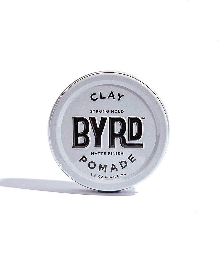 集中ばかげた信仰BYRD/クレイポマード 42g メンズコスメ ワックス ヘアスタイリング かっこいい モテ髪