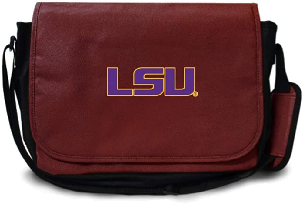 Zumer Sport LSU Tigers Football Super sale period limited Mes Sale Case Leather Computer Laptop