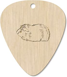 7 x 'Guinea Pig' Guitar Picks / Pendants (GP00012491)