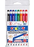 Carioca 42920 Bolsa De 8 Rotuladores Borrables Para Pizarra, Multicolor Set De 8
