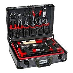 STIER Universal-Werkzeugsortiment im Aluminiumkoffer 144-teilig