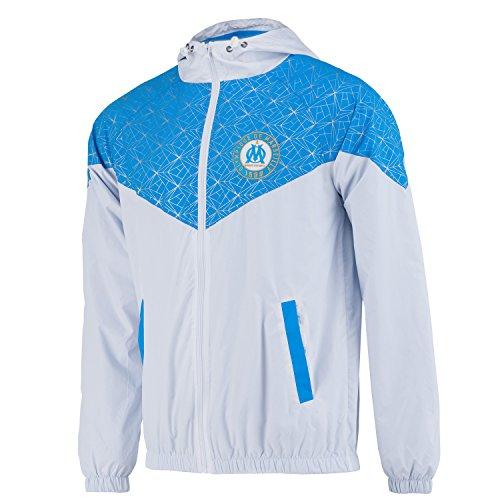 Olympique de Marseille Windjacke, offizielle Kollektion, Herrengröße S