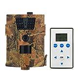 Lixada 8MP 720P Hinterkamera Jagdspiel Kamera Wildlife Scouting Kamera mit LCD Fernbedienung PIR Sensor Infrarot Nachtsicht IP54 Wasserdichte LCD Fernbedienung