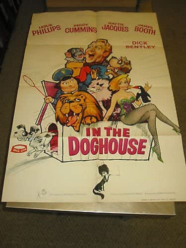Now on sale IN THE DOGHOUSE ORIG. Atlanta Mall BRITISH ONE LESLIE SHEET MOVIE PHI POSTER