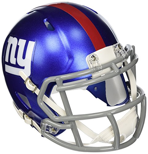 NFL Riddell Football Speed Mini Helm New York Giants