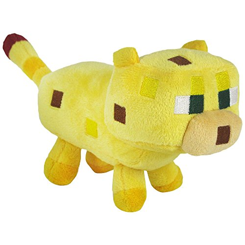 Yellow Ocelot Soft Plush