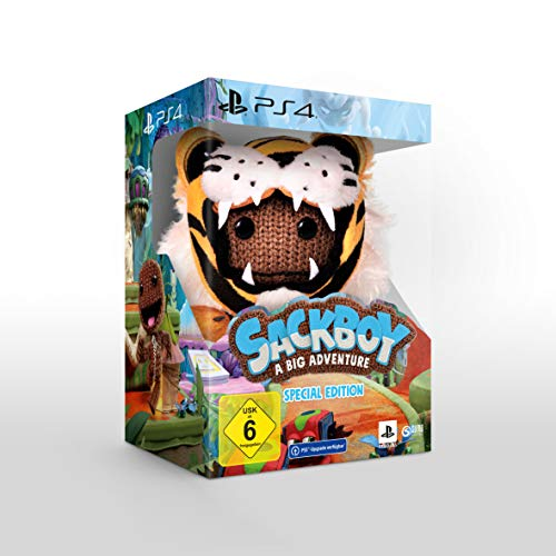 Sackboy: A Big Adventure Special Edition - [PlayStation 4 inkl. kostenlosem Upgrade auf PS5]