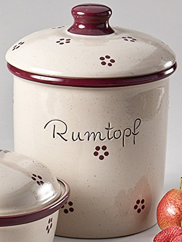 Rumtopf 5 L Rubin