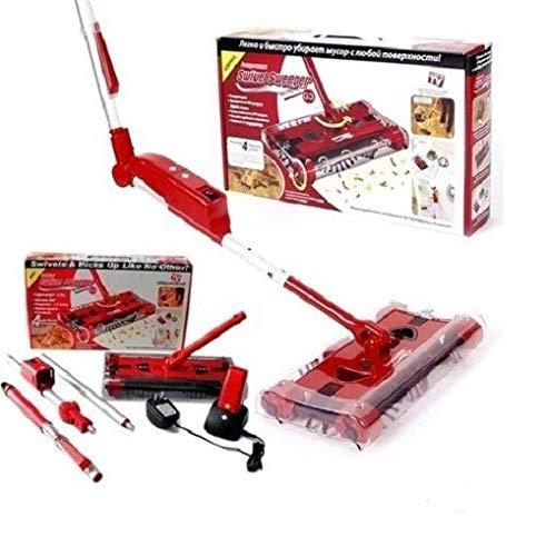 Maniashop - Escoba eléctrica giratoria, aspirador de polvo, batería recargable, giratoria, Swivel G3 Sweeper de nueva concepción