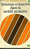 Structure et fonction dans la societe primitive - Collection points n°37